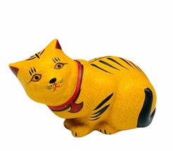 Curio Cat figurine Franklin mint collection kitten sculpture NIB box Cha... - £23.80 GBP