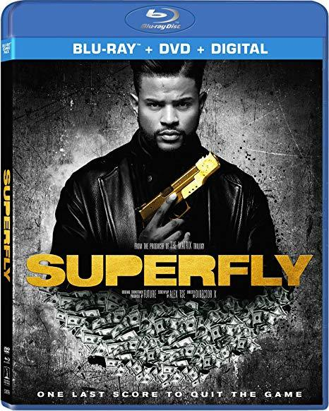 Superfly (Blu-ray + DVD, 2018)