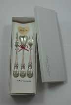"Francis I by Reed and Barton Sterling Silver ""I Love You"" Serving Set 3p... - $175.50"