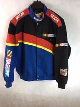 RARE JEFF HAMILTON RACING COLLECTION NASCAR EMBROIDERED COTTON Jacket Si... - $93.49