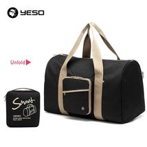 YESO Large Capacity Travel Duffle Tote Bag 2019 Nylon Waterproof Hand Lu... - $62.62