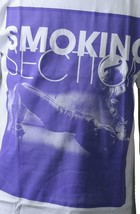 T.I.T.S. White Purple Hot Sexy Stripper Girl Smoking Section T-Shirt image 2