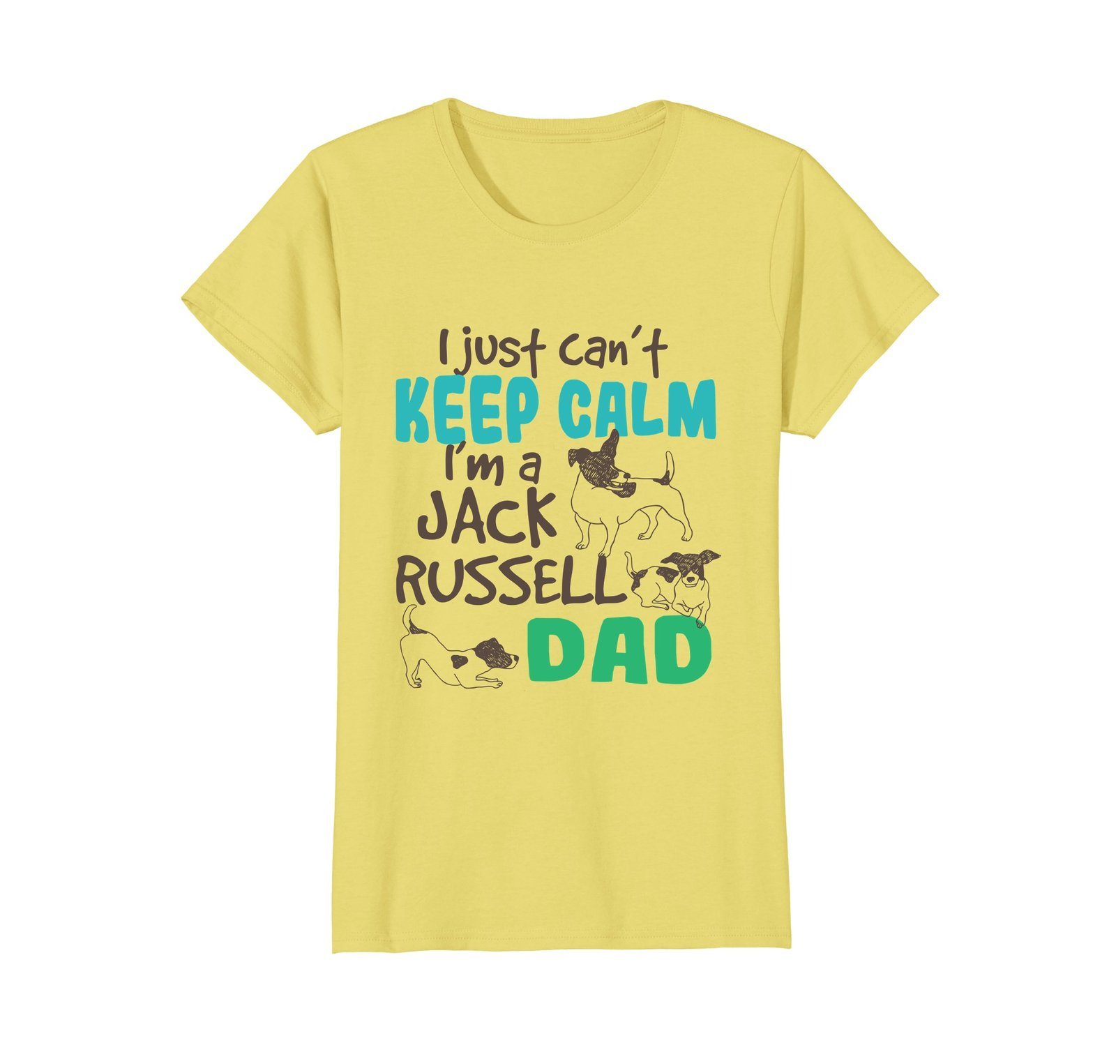 Funny Jack Russell Terrier Lover Dog Dad Shirt Dog Owner