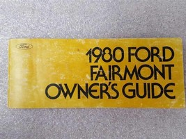 FAIRMONT  1980 Owners Manual 15912 - $13.81