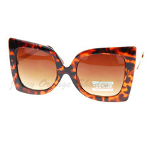 Womens Designer Sunglasses Oversized Square Butterfly Fashion - $9.95