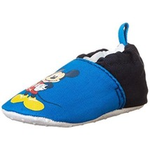 Disney Mickey Mouse Infant Boys Color-block Crib Shoes 6-12 Months M US - $5.93