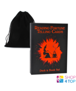 Reading Fortune Telling Cards and bag Layer Book Set US Games Systems Gi... - $46.42