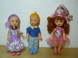 "2 pcs of 1994 Mattel mini dolls and 1 China doll 4.24"" - $24.75"