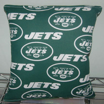 Jets Pillow New York Pillow NY Jets Pillow NFL Handmade In USA - $9.97