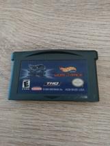 Nintendo Game Boy Advance GBA Hot Wheels: Velocity X & World Race Combo Pack image 2
