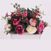 Rose Artificial Flower Wedding Road Lead Flowers Wedding Home Decoration - $75.00