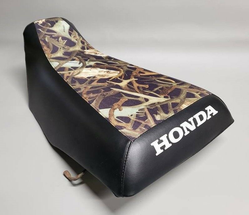 Honda TRX200D Type II Seat Cover  2-TONE GREEN /& CAMO or 25 COLOR OPTIONS