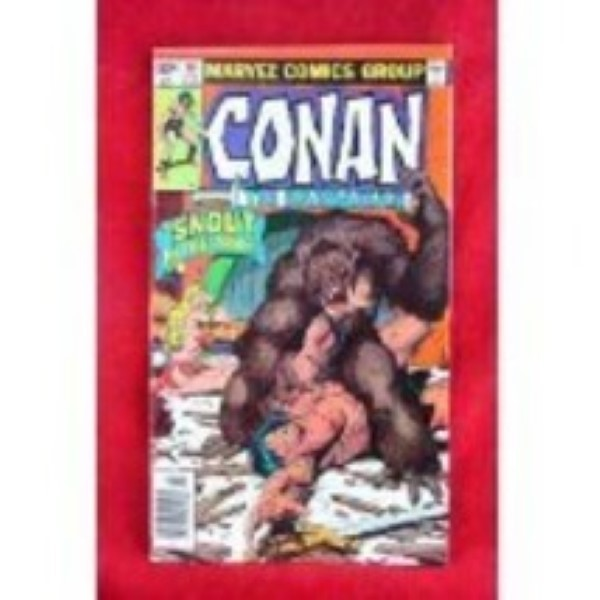 #107 Conan The Barbarian Jan 01, 1979 Marvel Comics Group