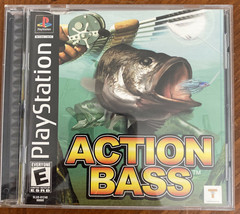 PS1 Action Bass Sony PlayStation 2000 Game - $8.02