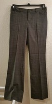 Womens Size 2 GRAY & BLACK PLAID - MOSSIMO - Stretch Dress Pants - $11.83