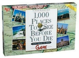 1,000 Places to See Before You Die Board Game - Travel Around the World ... - $44.54