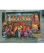 RISK LOTR LORD OF THE RINGS TRILOGY EDITION BOARD GAME COMPLETE CLEAN - $37.83