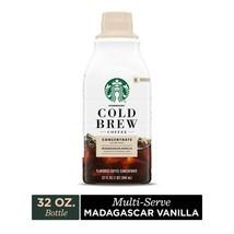 Starbucks Cold Brew Concentrate Madagascar Vanilla 32 oz Bottle - $21.73