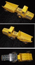 Tin Litho Gravel Toy Vintage Toy Truck Construction Vehicle Made In Japan - $39.99
