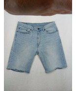 """LEVI'S 505 JEAN Blue SHORTS 34"""" W with Template  - $17.05"""
