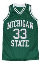 Magic Johnson #33 Michigan Basketball Jersey Green Any Size image 1