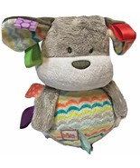 Bright Starts Taggies Bobble and Chime Puppy Dog Gray Soft Plush - $16.69