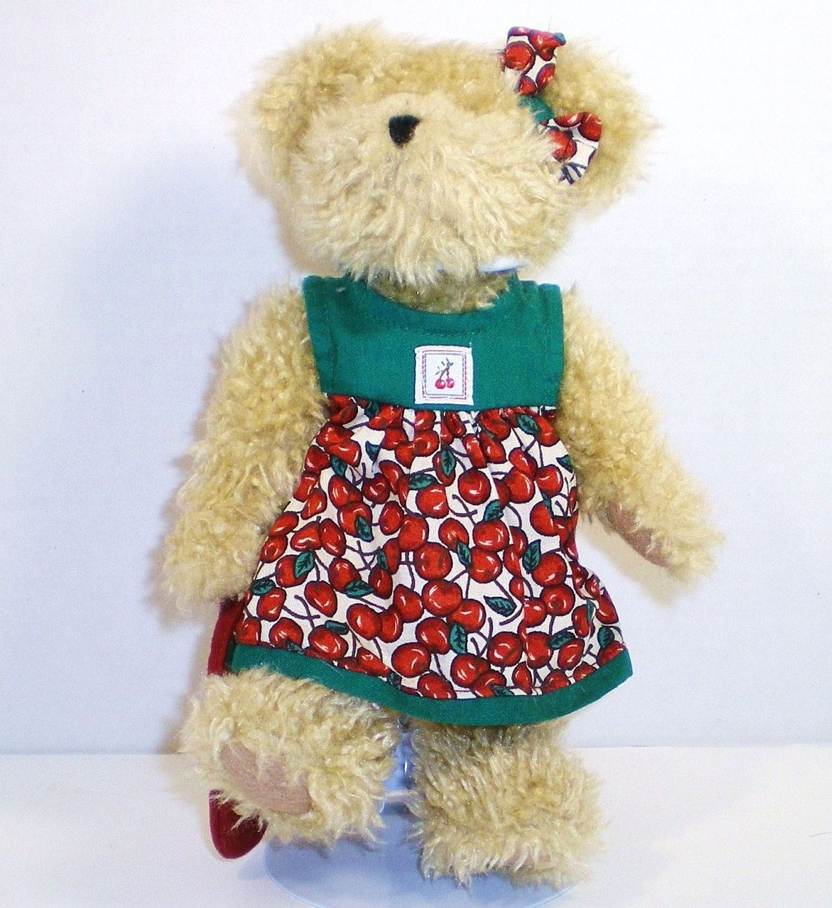 Boyds Tia Cherrybeary #904093 Beary Cherry Jubilee Series 1988 Retired