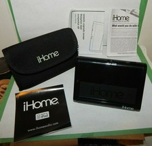 iHome iHM3 Portable Speaker System for your MP3 Player w/Case & Paperwork - $24.70