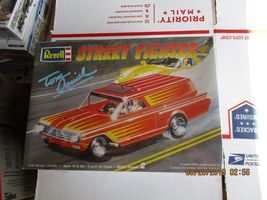 Revell Tom Daniel Street Fighter 1960 Chevy Sedan Delivery 1/24 scale - $35.99