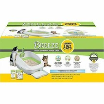 Purina Tidy Cats Litter Box System BREEZE System Starter Kit Litter Box ... - $38.49