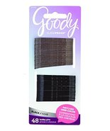 Goody Women's Colour Collection Bobby Pins SPH, Black, 48 Count - $7.48