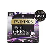 Twinings Earl Grey Tea Bags 100 per pack - $10.19