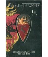 Brand New Game Of Thrones Shield Metal Pin - Stannis Baratheon - $8.90