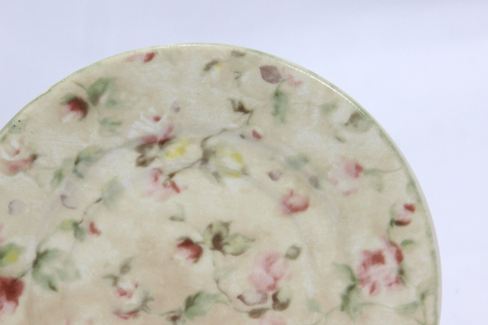 "222 Fifth Savannah Plates Saucers 6.5"" Set of 8 image 3"
