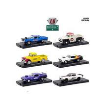 Drivers 6 Cars Set Release 51 in Blister Packs 1/64 Diecast Model Cars by M2 Mac - $56.99