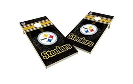 Pittsburgh Steelers Cornhole Board Set Bean Bag Toss NFL 2x4  - $295.00