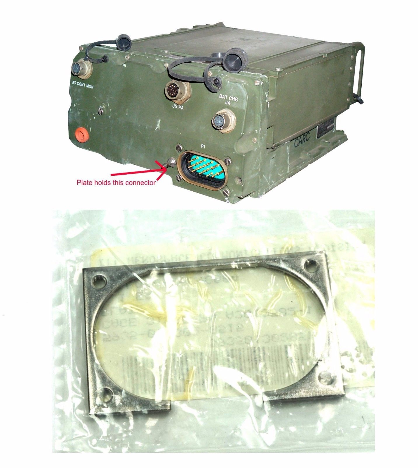 Sincgars AN/PRC Radio Set Interface to Mount and 50 similar items