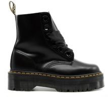 Dr Martens Molly Black Buttero New Collection Black Para High Double Sho... - $268.82