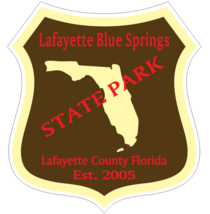 Lafayette Blue Springs Florida State Park Sticker R6749 YOU CHOOSE SIZE - $1.45+