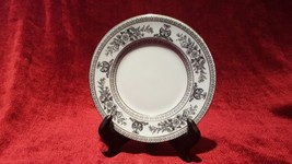 "Wedgwood China Columbia Black 6"" Bread Plate - $5.93"