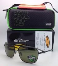 Nuevas Polarizadas Smith Optics Gafas de Sol Nomad Negro W/ Chromapop Gris Verde
