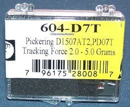 NEEDLE STYLUS for PICKERING PD07C PD07T DAT2 V15/AC2 V15/AT1 DAC2 604-D7T image 4