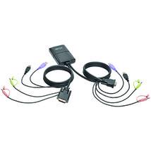 Tripp Lite(R) B032-DUA2 2-Port USB/DVI Cable KVM Switch - $136.57