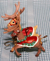 Hallmark Keepsake Ornament Blitzen & Dondel  # 4 in Series - $9.72