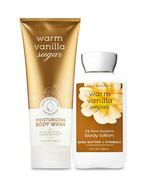 Bath & Body Works Warm Vanilla Suga Body Lotion + Moisturizing Body Wash... - $31.95
