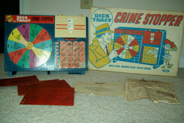 Vintage 1963 Dick Tracy Crime Stopper Game in Original Box by Ideal - $45.94
