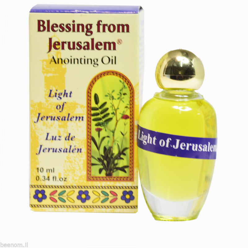 Anointing Oil Light of Jerusalem Blessing and 50 similar items