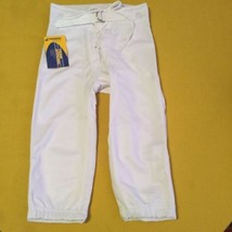 Champro Sports football pants Size youth Medium boys white practice athl... - $14.99