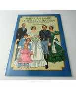 Vintage 1985 Paper Doll Book In Full Color American Family Of The Civil ... - $12.00
