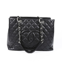 Chanel Quilted Caviar Grand Shopping Tote Bag - $2,210.00